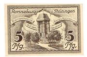 5 Pfennig (Ronneburg) – revers