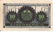 10 Pfennig (Eisenberg in Thüringen) – revers