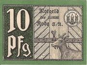 10 Pfennig (Roda/Stadtroda) – revers