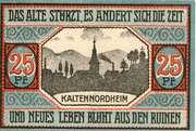 25 Pfennig (Kaltennordheim) – revers