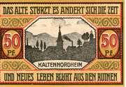 50 Pfennig (Kaltennordheim) – revers