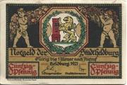 50 Pfennig (Heldburg) – avers