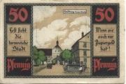 50 Pfennig (Heldburg) – revers
