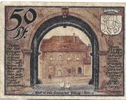 50 Pfennig (Pölzig) – revers