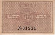 10 Pfennig (Katzhütte) – revers