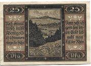 25 Pfennig (Geisa) – revers