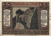 25 Pfennig (Geisa) – avers