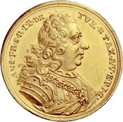 1 Ducat - Anselm Franz – avers