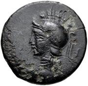 Bronze Æ16 (Thymbria) – avers