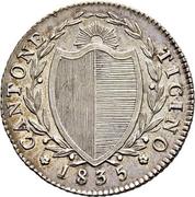 1 demi franc – avers