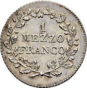 1 demi franc – revers