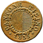 3 denari – avers