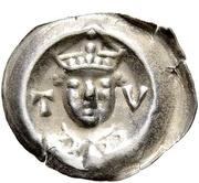 1 Brakteat - Otto III. von Hachberg – avers