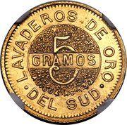 5 Gramos – revers