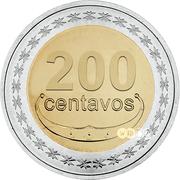 200 centavos – revers