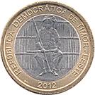 100 centavos Boaventura de Manufahi – avers