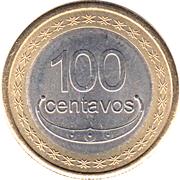 100 centavos Boaventura de Manufahi – revers