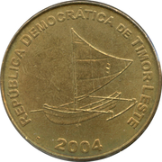 25 centavos – avers