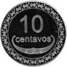 10 centavos – revers