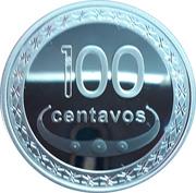 100 centavos Boaventura de Manufahi (argent) – revers
