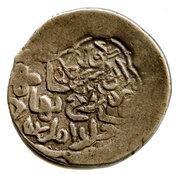 1 Tanka - Shahrukh Mirza - 1405-1447 AD (Countermarked) – revers