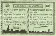 50 Pfennig (Tingleff) – revers