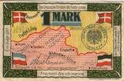 1 Mark (Tinglev - Tingleff) – revers