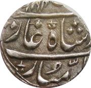 Rupee - Shah Alam II [Ranjit Dev] Jammu – avers