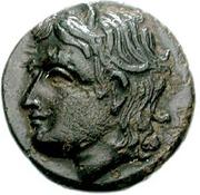 Bronze Æ16 (Tisna) – avers