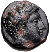 Bronze Æ11 (Tisna) – avers