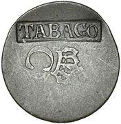 2¼ Pence (Countermark) – avers