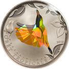 100 francs CFA (Colibri jaune) – revers