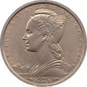 2 francs Union française (Essai) – avers