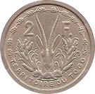 2 francs Union française (Essai) – revers