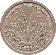 2 francs ( Essai ) – revers