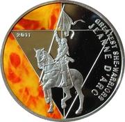 500 francs CFA (Jeanne d'Arc) – revers