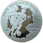 500 francs CFA (Coupe du Monde de football Allemagne 2006) – revers