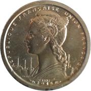 1 franc Union Française – avers