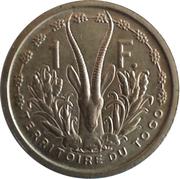 1 franc Territoire du Togo – revers
