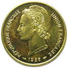 25 francs Union française (Essai) – avers