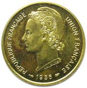 25 francs Union Française Togo (Essai) – avers