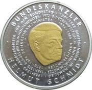 500 francs CFA (Helmut Schmidt) – revers