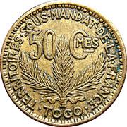 50 centimes Togo – revers