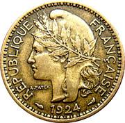 1 Franc Territoires sous mandat – avers