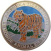 500 francs CFA (Tigre) – revers