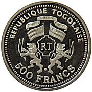 500 francs (Albert Einstein) – avers