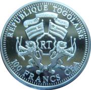 100 francs CFA - Togo (éléphant) – avers