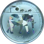 100 francs CFA - Togo (éléphant) – revers