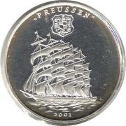 1000 francs CFA (Preussen) – revers