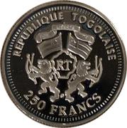 250 francs CFA (Angela Merkel) – avers